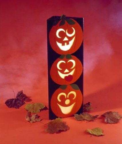 (A Woodworking Pattern and Instructions Pkg to Build Your Own Tower O Pumpkins)