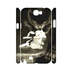 Cute and Lovely Cat High Qulity Customized 3D Cell Phone HTC One M8 , Cute and Lovely Cat HTC One M8 3D Cover Case
