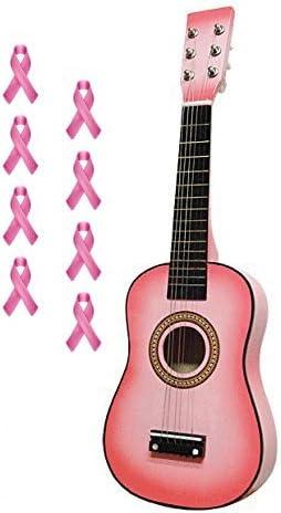 Rosa guitarra acústica 23