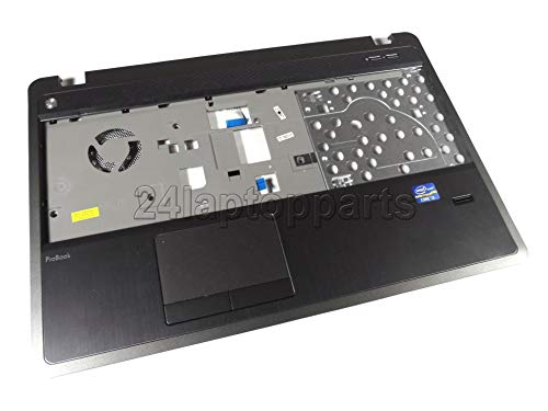 HP 683506-001 Upper CPU cover (chassis top) - Includes TouchPad - For use in models with a fingerprint reader (Renewed)