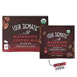 Four Sigmatic Mushroom Organic Instant Coffee Mix 3 Flavors