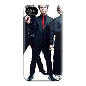 Iphone 4/4s Iwm9939Kowv Customized Colorful Green Day Band Image Bumper Hard Phone Covers -CristinaKlengenberg