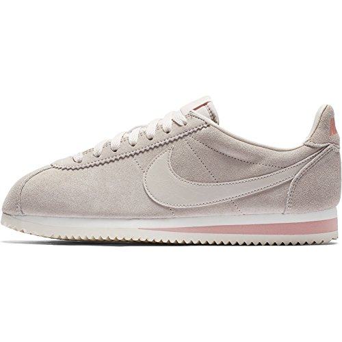 Cortez Chaussures Nike Corail Beige Beige Suede 39 Taille WMNS Classic qSBpw