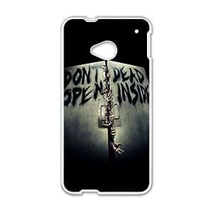 Happy walking dead don t open dead inside Phone Case for HTC One M7 by icecream design