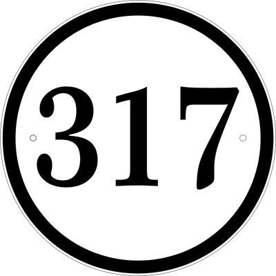 Reflective Address Sign - Custom 911 Address Plaque Personalized with Your House Number - 8