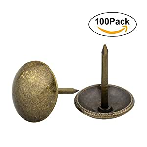 decorative nails for furniture. Yasorn 100pcs Antique Upholstery Nails Decorative Furniture Tacks Set Thumb Tack Push Pins DIY 1/ For