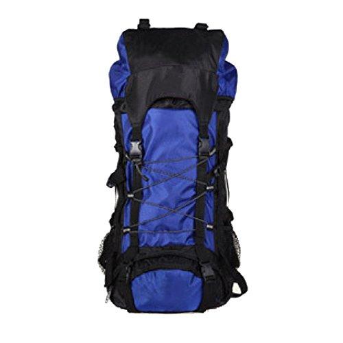 Xin.S60L Mochila Militar Táctica Deportes Bolsa De Ataque Al Aire Libre Bolsa De Mochila La Caza De Camping Senderismo Mochila. 3 Colores Blue