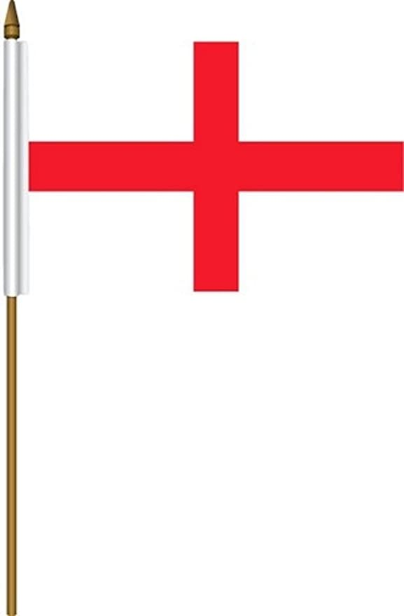 "Gloucestershire New Small Hand Waving Flag 6/"" x 4/"""