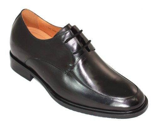 Toto-t1501-7,1cm Grande Taille-Hauteur Augmenter Chaussures ascenseur robe Chaussures (Noir)