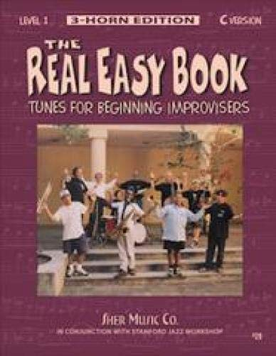 The Real Easy Book, Level 1: Tunes for Beginning Improvisers (3-horn edition, C version) - Tunes Easy