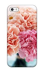 Awesome Case Cover/iphone 5/5s Defender Case Cover(home Bunch Carnations Nature Flower)