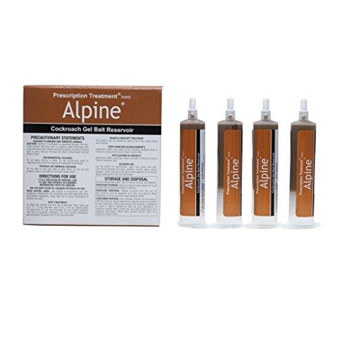 Alpine CockRoach Gel Bait 4(30 gram) Tubes ()