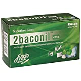 2baconil Nicotine Gum ( Five strip 50 gums )