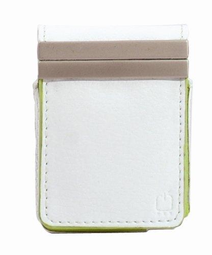 Fruwt Twist 2-in-1 Premium Leather Case for iPod nano 3G (White and Green) (Ipod Nano 3g Green)