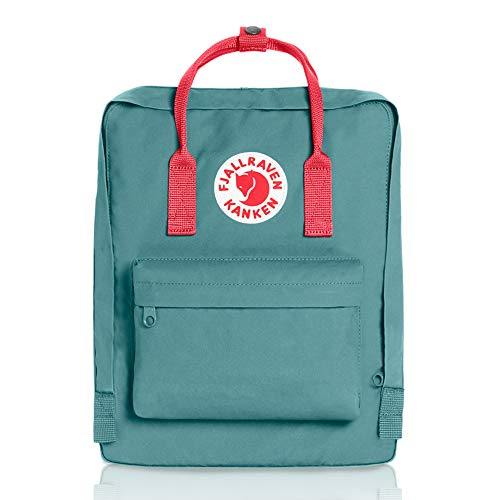 Fjallraven - Kanken Classic Pack, Heritage and Responsibility Since 1960, One Size,Frost Green/Peach Pink by Fjallraven (Image #1)