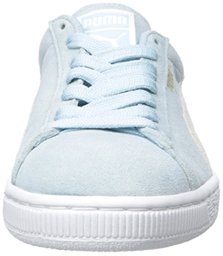 Classic Women Cool PUMA White Blue Suede 7EZHwP
