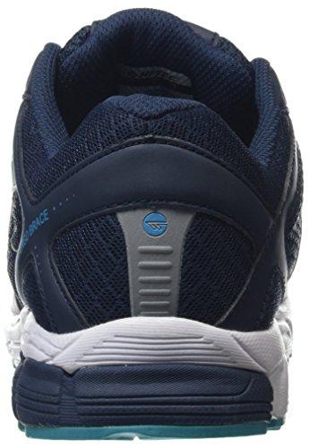 Hi-Tec R200, Zapatillas de Deporte para Exterior para Hombre, Azul Marino/Verde Azulado (Navy/Teal) Azul (Navy/teal 033)