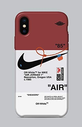 Rocío nadar Escritura  WorldSell Soft Silicone Case Cover Protection Shell Soft TPU Gel Comix  Cartoon Case for Apple iPhone X-XS LOGHI 159 Nike Off-White: Amazon.co.uk:  Computers & Accessories