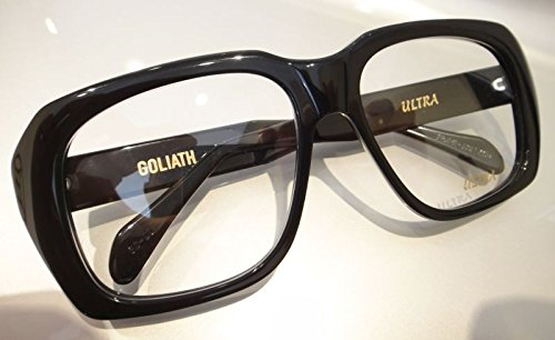 2fd1a3a8d31 Amazon.com  Ultra Goliath II Eyeglasses Vintage Ocean s 11 Eye Glasses  Casino Robert De Niro Black  Clothing