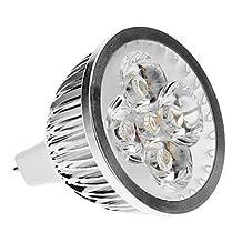 ZQ Mini light bulbs MR16(GU5.3) 4W 3000K Warm White Light LED Spot Bulb (DC 12V)
