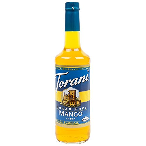Fruit Flavored Beverage - Torani Sugar Free Mango Syrup 750mL