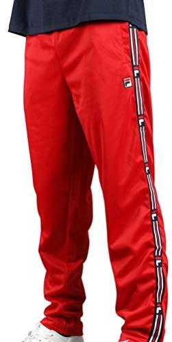 Fila Mens USH Track Pants Red M (Mens Fila Sport Fleece 2-0 Jogger Pants)