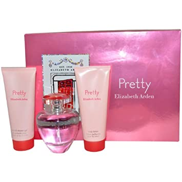 Amazon.com : Elizabeth Arden Pretty Gift Set for Women (Eau de ...