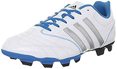 adidas Women's Matteo Nua In Soccer Cleat,Running White/Metallic Silver/Sharp Blue,11 M US