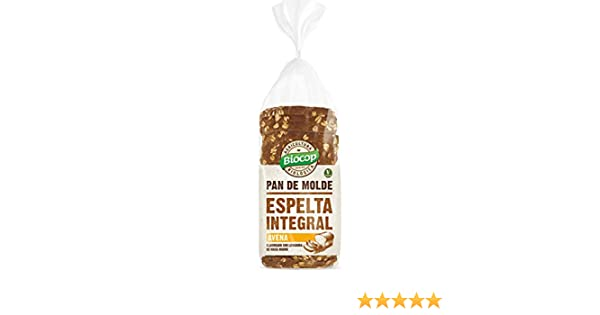 Biocop Pan Molde Espelta Int.Avena Biocop 400 G 300 g: Amazon.es ...