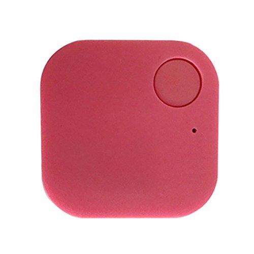 Blueis Car GPS Tracker Kids Pets Wallet Keys Alarm Locator Realtime Finder Tracker (Red)