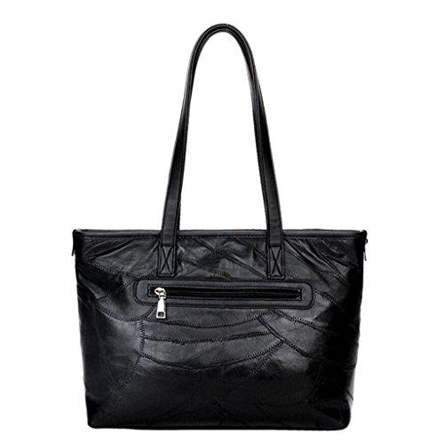 della di croce di pelle NVBAO Shopping pecora della spalla pacchetto Grande borsa Diagonale Lavoro Sacchetto signora capacità Sacchetto di della Grande wx6OxXvq