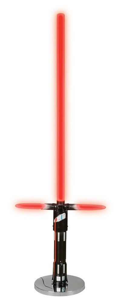 Disney Star Wars Lightsaber Floor Lamp, Red/Black/Silver by Disney