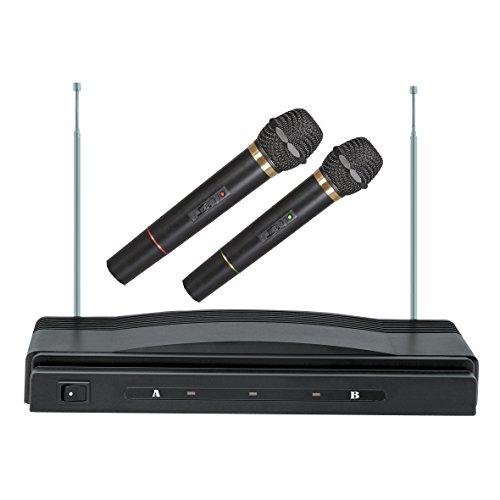 Professional Dual Wireless Microphone - 9
