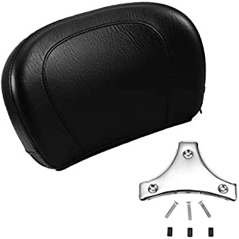 Small Smooth Look Short Sissy Bar Detachable Backrest Passenger Low Pad for Harley Davidson Touring like Street Glide Road King Ultra Electra CVO 1994-2020 ref 51579-05A Upright 52935-04A 52610-09A