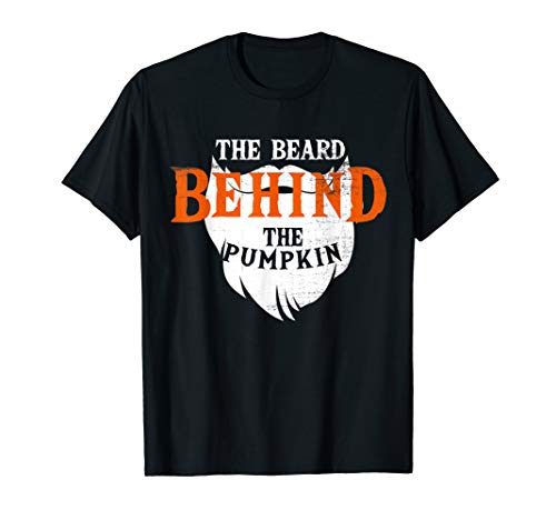 Good Halloween Costumes For Bearded Guys (THE BEARD BEHIND THE PUMPKIN HALLOWEEN FUNNY PREGNANCY GIFT)