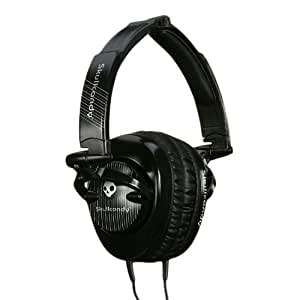 Skullcandy Skullcrushers (Black Pinstripe) (Discontinued by Manufacturer)