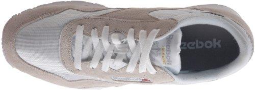 White Laufschuhe Light Weiß Nylon Herren Reebok Classic Grey 6wq7xX