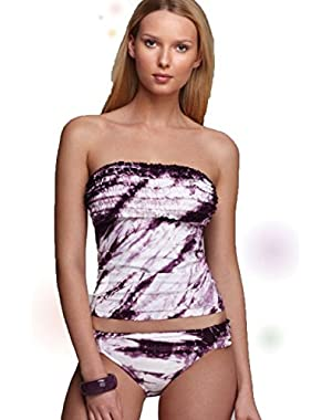 Plum Summer Lovin Tankini Top,Small