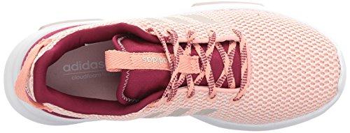 Adidas Originals Delle Donne Cf Corridore Tr W Scarpa Da Corsa Traccia Di Colore Rosa / Grigio Perla / Mistero Rubino