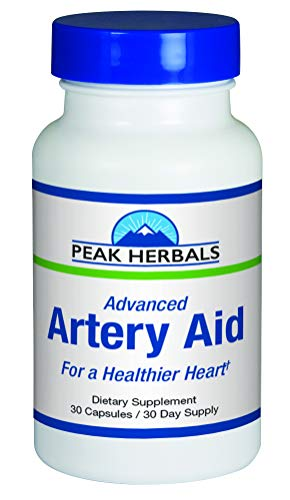 Advanced Artery Aid Supplement for Heart Health Support, addresses Poor Circulation and Targets clogged Arteries Throughout The Body. Helps Remove toxins and Supports Clean and Supple Arteries.