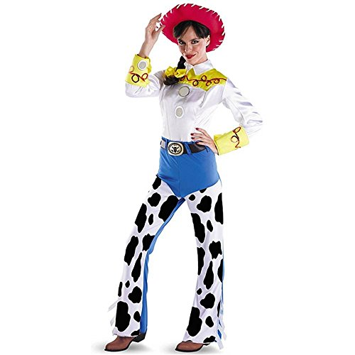 Deluxe Jessie Adult Costume - (Deluxe Toy Story Jessie Adult Costumes)