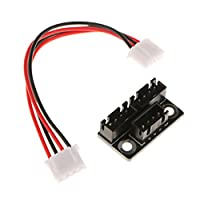 MonkeyJack 3D Printer Parts Dual z Stepper Motor Parallel Module Stepping Motor Bboard from MonkeyJack