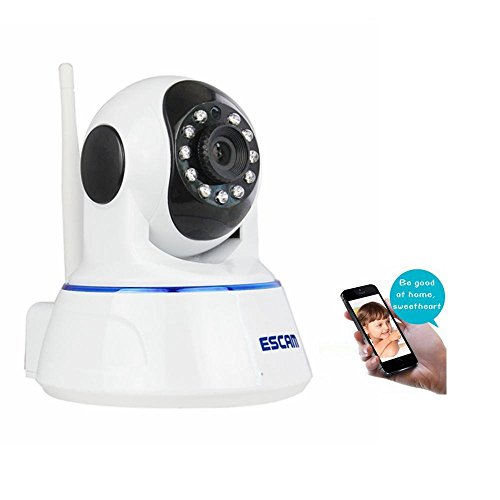 Baby Monitor Wifi IP Camera Home Security Camera Wireless Compatible With OS ,Android,HD 720P, 2 Way Audio,Voice Intercom,Pan Tilt IR Cut Remote Monitoring,Infrared Night Vision (Internet Remote Intercom)