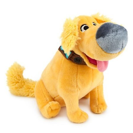 Disney / Pixar - Dug From the Up Movie Plush Dog - Bean Bag - 8 - New with Tags