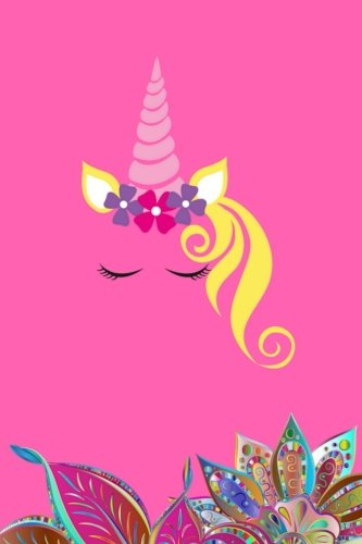 Unicorn Journal Notebook: 180-page journal to write your heart out! Includes alternating lined and blank pages for you to fully express yourself and for doodling or drawing.