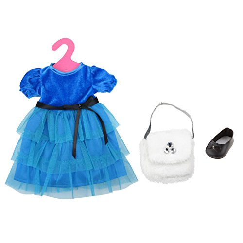 blue accessories for black dress - 9