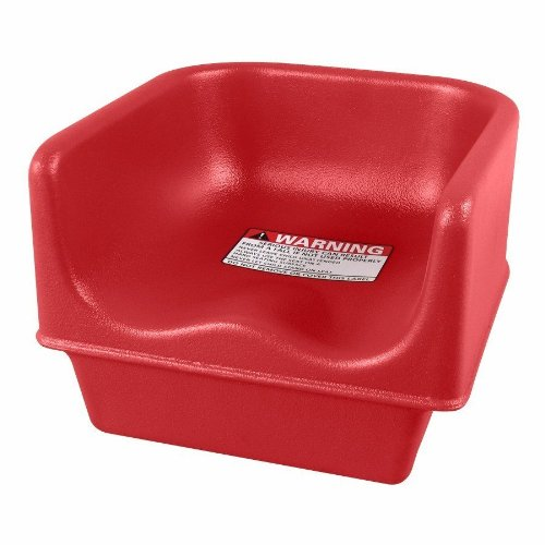 (Cambro 100BC Hot Red Single Height Booster Seat)
