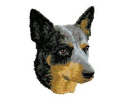 Dog Sweatshirt Embroidered Cattle - Australian Cattle Dog Embroidered Sweatshirt Shirt