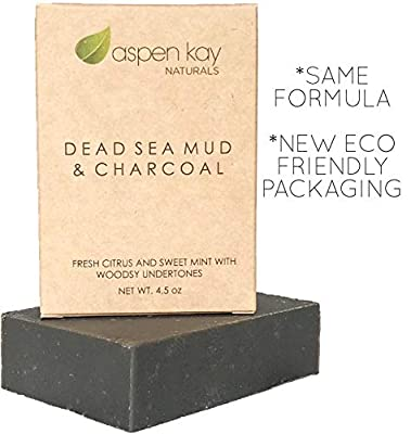 Dead Sea mud soap & Charcoal (Two Pack)