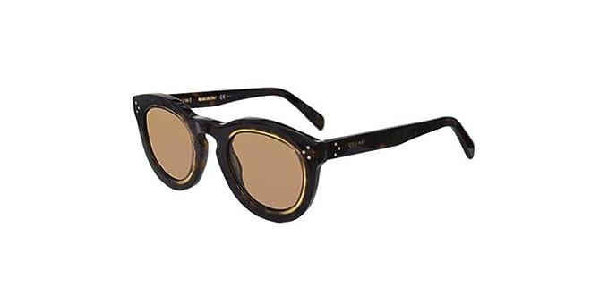 faf87448370c Céline AGNES CL 41403 S DARK HAVANA HONEY BROWN women Sunglasses   Amazon.co.uk  Clothing